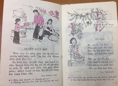 sách tập đọc cũ ngày xưa