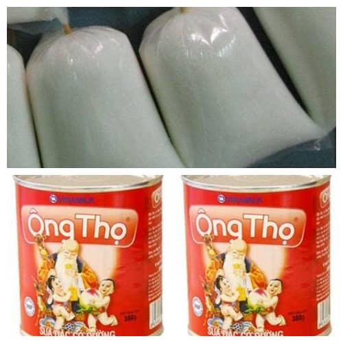 Cân đường hộp sữa