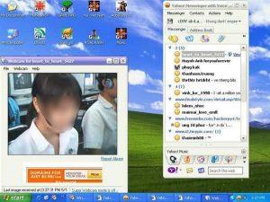 Chát Yahoo webcam