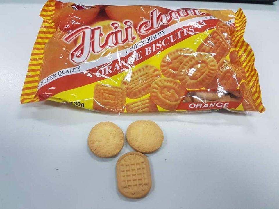 Bánh quy cam ngày xưa
