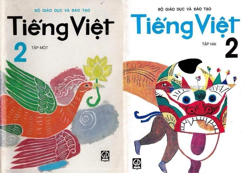 Sách Tiếng Việt tập 2 cũ