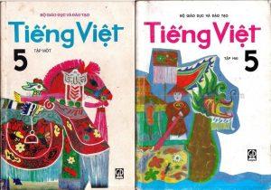 Sách Tiếng Việt lớp 3 xưa