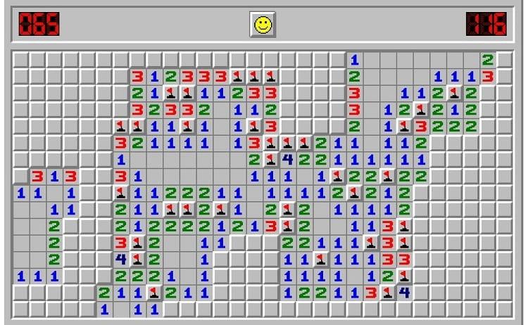 Minesweeper - trò chơi dò mìn huyền thoại
