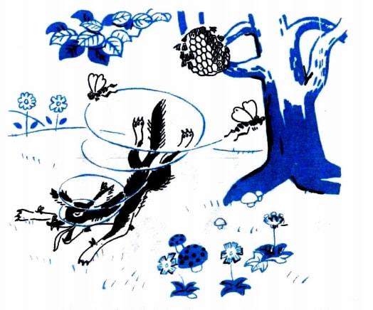 Bài thơ Con cáo và tổ ong