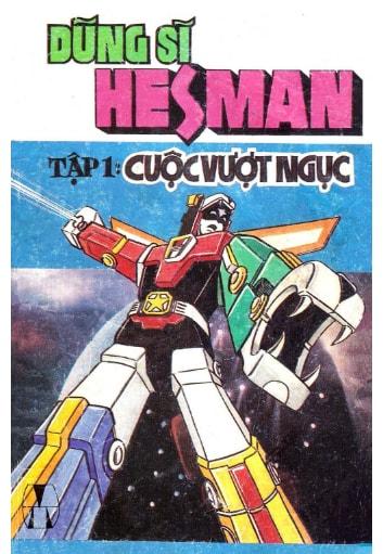 Truyện Dũng sĩ Hesman