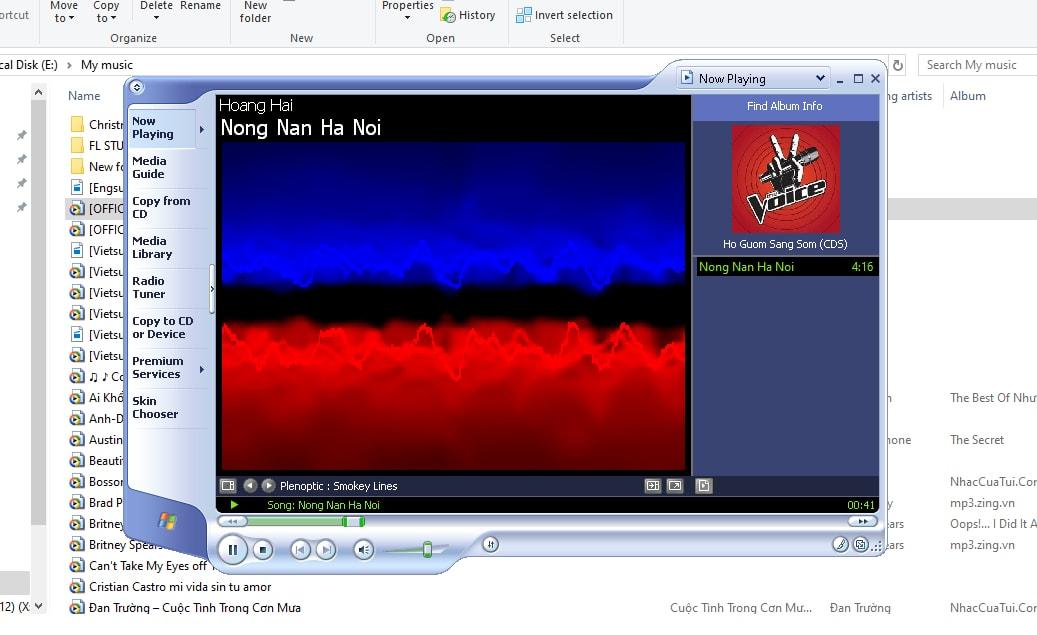 Trình phát nhạc Win XP huyền thoại