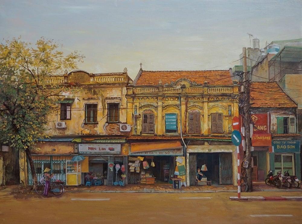 Tranh đẹp về Hà Nội