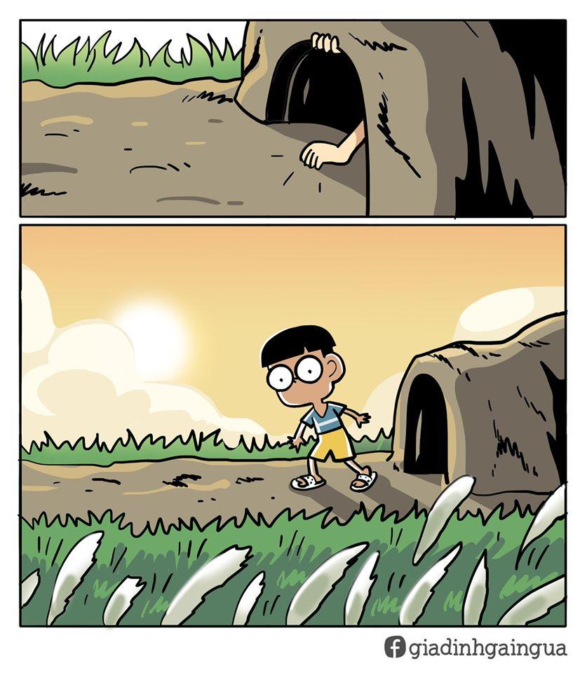 Bộ ảnh trở về tuổi thơ