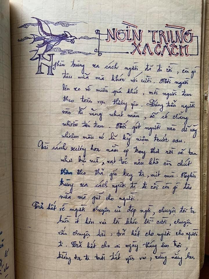 Sổ nhạc kỷ niệm của ba