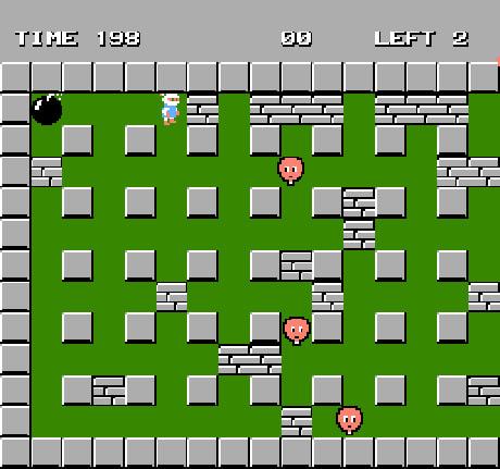 Game thả bom NES