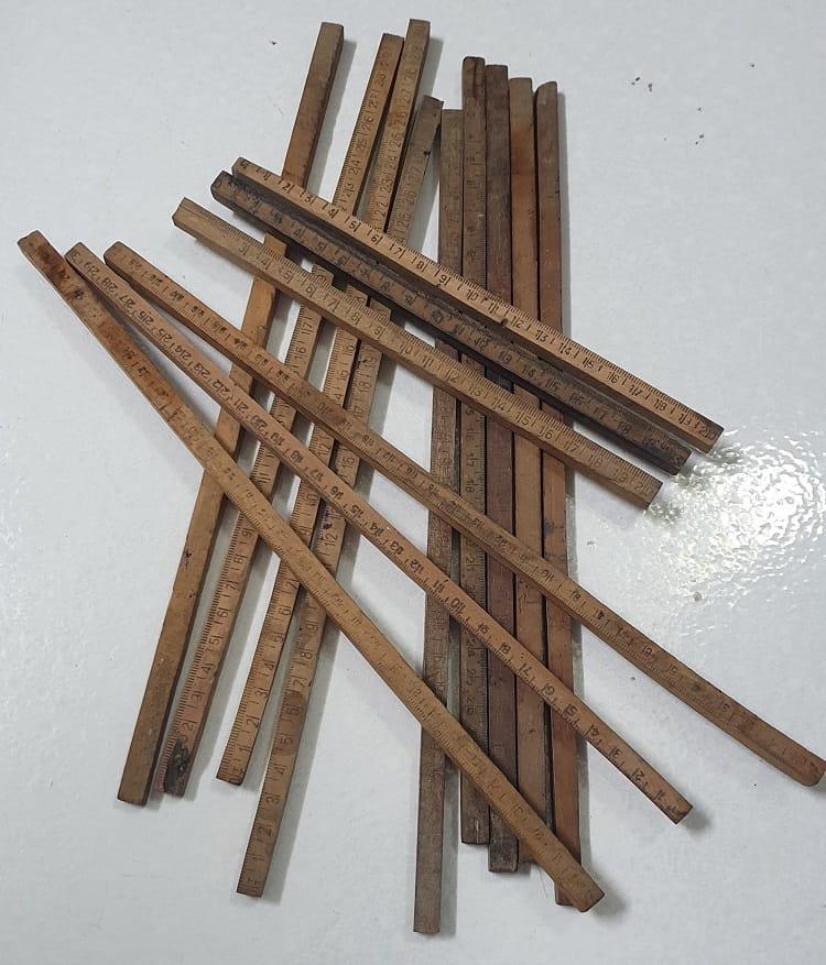 Thước gỗ ngày xưa