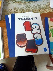 Sách Toán lớp 1 ngày xưa