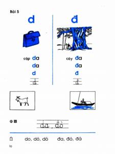 Tiếng Việt lớp 1 thế hệ 8x 9x